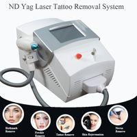 бесплатные новые рисунки тату оптовых-Новый дизайн Q переключил nd YAG лазерная машина для удаления татуировки салон лазерное оборудование для спа бесплатная доставка