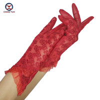 Wholesale ladies leather glove for sale - Group buy Fashion CHING YUN Women Lace Gloves New Spring Woman Ultra thin Gloves Leather Solid Women s Fashion Soft Sheepskin Ladies