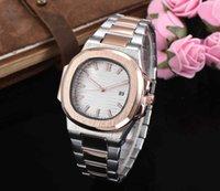 marcas suizas relojes deportivos al por mayor-Famosa marca suiza Señoras de lujo fina octagonal reloj deportivo de cuarzo 36 mm cinturón de acero de las mujeres fecha automática reloj de moda 7118