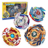 Wholesale new beyblade toys for sale - New Boxed bayblade Beyblade Burst D Set With Launcher and Arena Metal Fight Battle Fusion Classic Toys With Original Box