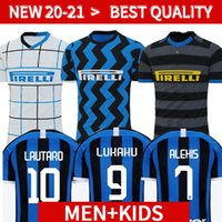 Wholesale jersey milan gold for sale - Group buy 20 INTER MILAN soccer jersey ERIKSEN LUKAKU LAUTARO ALEXIS PERISIC SKRINIAR GODÍN football shirt uniforms men kids kit