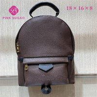 Wholesale hot school bags for girls resale online - Pink sugao luxury designer backpacks women backpack genuine leather mini school bags high quality backpack hot sales fashion for lady
