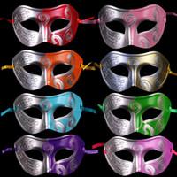 máscaras de mascarada de guerrero romano al por mayor-