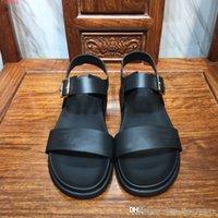 sandálias de sola de tecido venda por atacado-2019 sapatos casuais de qualidade superior para os homens Tecidos importados Original combinação única sandálias planas simples dos homens casuais