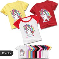 Wholesale teenagers girls clothes for sale - Group buy Z Y Summer Y Running T Shirt Kids Dabbing Pug T Shirt Toddler Girls Short Sleeve Clothes Teenagers Boys T Shirt Casual
