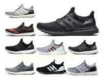 Wholesale uncaged ultra boost gold black for sale - Group buy High Quality ultraboosts Uncaged Running Shoes Men Women ultra boosts III Primeknit Runs White Black Athletic Shoe Size