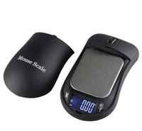 escamas de mouse venda por atacado-Criativo Mouse MINI Balança Eletrônica 100gx 0.01g 200gx0.01gBacklight Módulo de Alta Precisão Escala de Jóias de Bolso Digital SN2581
