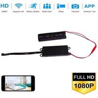 mini usb monitörleri toptan satış-4 K / 2 K / 1080 P WiFi Mini Kamera DIY Modülü IP kamera Kapalı USB kablosuz Kam / Pet bebek Monitörü / Dayalı Kam Hareket Algılama Güvenlik kamera ile