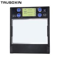 Wholesale darkening filter resale online - Smart Arc Sensor DIN5 DIN13 Solar Auto Darkening TIG MIG MMA Welding Filter Helmet Lens