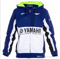 estilo yamaha al por mayor-2019 estilo caliente carreras de motos de cross-country traje YAMAHA alta calidad chaqueta de montar YAMAHA acelerar abajo concede anti-caída para cualquier lugar.