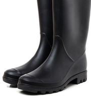 düğün için şampanya danteli ayakkabılar toptan satış-Düğün ayakkabı / 2019 YENI Kadın YAĞMURLAR moda kısa yağmur botları su geçirmez welly çizmeler rainboots su ayakkabı rainshoes yüksek 28 cm Düğün ayakkabı