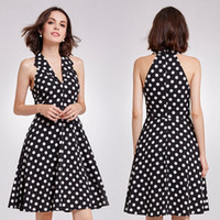 Wholesale womens dresses for sale - Group buy Womens Designer Dress Black Fashion Cocktail Party Dresses Short Halter Vintage Casual Summer Dress High Quality Dress