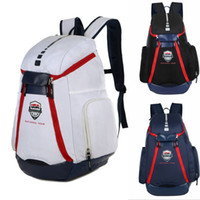 Wholesale New USA national team Backpack The Olympic Mens Womens Designer Bags Teenager Black White Blue Outdoor Basketball Backpack Colour