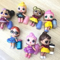 Wholesale baby shoes years for sale - LOL Dolls DIY Toys Surprise Girls Romdan Models doll Contains Doll Bottle Clothes Shoes Glasses or Headwear Complete LOL kids toys