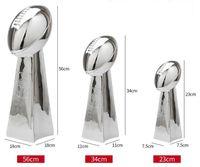 ingrosso resine di gufo-SUPER B gufo resina Trofeo American Football League Cup Vince L ombardi Trophy 9 '' (24 centimetri) 13 '' (34 centimetri) Full size 22 '' (56cm) Fan Gifts