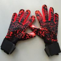Wholesale soccer football gloves resale online - The New SGT Goalkeeper Gloves Latex Soccer Football Latex Professional Football Gloves New Soccor Ball Gloves