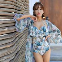 neue frauen badeanzüge großhandel-Womens Badeanzüge Badeanzug Bikinis Für Frauen Bikini 2019 Neue Badeanzug Plus Größe Weibliche Korea Web Celebrity Supper Fairy Sexy