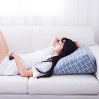 escritório de sofá venda por atacado-Apoio travesseiro sofá reclinável lombar com Side Pocket Office sofá Voltar Almofada Car encosto Chair Resto Pad