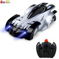 Wholesale race car wall for sale - RC Car Remote Control Car Wall Climber Anti Gravity Ceiling Racing Child Radio Control Electric Machine Auto Toys C