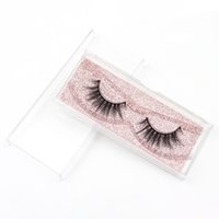 Wholesale custom shipping label resale online - DHL False Eyelashes Good Quality custom Private Label d Mink Eyelashes