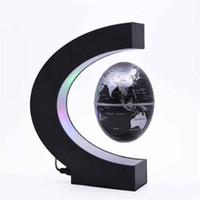 Wholesale gifts globe for sale - Group buy LED Illuminate Magnetic Levitation Globe Home Light Decoration New Exotic Creative Practical Crafts Gift DIY Hot Sale ay I1