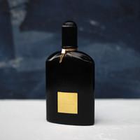 perfume ml venda por atacado-Alta Qualidade Ford Colônia para Homens Orquídea Preta MARCA 100 ML Spray Perfume Fanscinating Perfumes Eau De Parfume Frete grátis