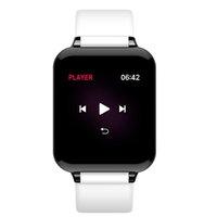 B57 Women Men Smart Wristbands Watch Waterproof Sport IOS Android phone Smartwatch Heart Rate Monitor Body Temperature Blood Pressure
