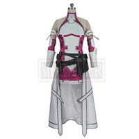 Wholesale cosplay yuuki resale online - Sword Art Online Fatal Bullet Yuki Asuna Yuuki Asuna Cosplay Costume Custom Made