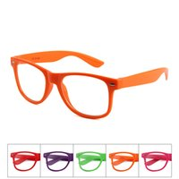 Wholesale cute baby girl sunglasses for sale - Children cute colorful Sunglasses Frame Baby Party Glasses outdoors travel beach retro light sunglasses frames QQA463