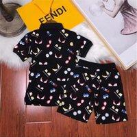 ingrosso pullover sport di marca-Summer Kids Fashion Letters Maglietta di marca Ragazze Maglietta di lusso Maglietta manica corta Sport all'aria aperta Jersey Abito di qualità