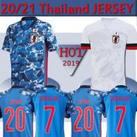Wholesale jersey japan resale online - 2020 Japan soccer jersey national team ATOM KAGAWA ENDO OKAZAKI NAGATOMO HASEBE KAMAMOTO Adult man and kids kit football Shirt