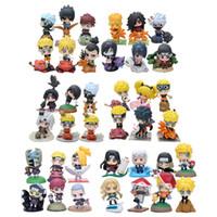 Wholesale uzumaki naruto anime figure resale online - Anime Naruto Uzumaki Naruto PVC Action Figures Collection Toys Children Doll Gift Collection Toys styles MX200319