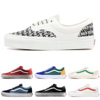 d31a2fb54b Wholesale white vans shoes for sale - Best discount YACHT CLUB Vans old  skool FEAR OF