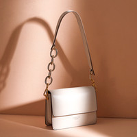 Wholesale messenger bag two straps for sale - Group buy LACATTURA Women Designer Handbag Small Shoulder Bags Fashion Chic Messenger Bags Lady Crossbody for Girls with Two Straps White
