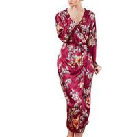 bbb3a7f9b6717 pyjama pour les vêtements de nuit pour femmes pyjama one piece Women  Simulation Silk Ladies Pyjamas Lingerie Robe Peignoir Robe de mariée  XTN