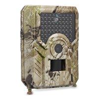 dış mekan hd kamera sd toptan satış-PR200 Açık Su Geçirmez Anti-hırsızlık Otomatik Izleme Avcılık Kamera Spor Eylem Kamera HD 1080 P IR Gece Görüş