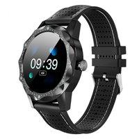 rastreadores de actividad para fitness al por mayor-SKY 1 Sport Smart Watch Hombres con monitor de ritmo cardíaco Pulsera inteligente Fitness Activity Tracker Podómetro Reloj Inteligente para Android e IOS