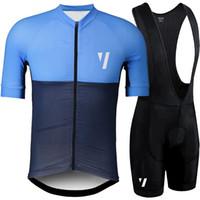 ekip bisiklet mayo bib şort seti toptan satış-2019 VOID Yaz Pro team Kısa Kollu erkek Bisiklet Jersey Önlüğü Şort Set Bisiklet Giyim Ropa Ciclismo Bisiklet Giyim kitleri Y022701