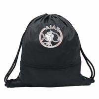 plaj çantaları fermuarlar toptan satış-Real Madrid Hayranları Futbol Ayakkabı Voleybol fermuar su geçirmez Açık Çanta Futbol eğitimi Tasarım Depolama Sırt Çantası Okul Plaj Çantası Ajax