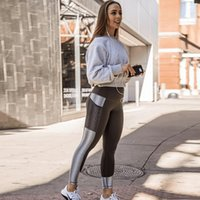 Wholesale womens leggings sale resale online - Womens Leggings Women Fashion Solid Color Slim Running Yoga Pants Hot Sale Elastic Jogger S XL with Colors