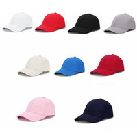 katı renk snapback şapkaları toptan satış-Korean Fashion Unisex Cap Adjustable Solid Color Baseball Hats Cotton Dome Outdoor Sports Double Thicken Snapback Capsl LJJJ5