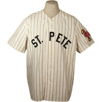 Wholesale ship authentic baseball jerseys for sale - Group buy Custom St Petersburg Saints Authentic Home Jersey Men Women Youth Any Name Any Number