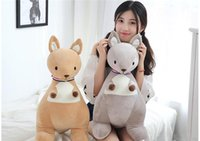 Wholesale soft scarves for sale online - 20170732 Hot Sale The Scarf Kangaroo Stuffed Animals Cotton Super Soft Plush Toys Birthday Present For Girl