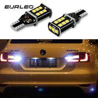 1156 bombillas led sin error al por mayor-2x CAN-bus Error Libre 1156 P21W T15 Bombillas LED para automóviles Luces de marcha atrás para VW Passat B5 B6 B7 Golf 4 5 7 6 Beetle Touareg