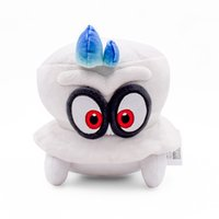 Wholesale home decor tv online - 20cm Super Mario Odyssey plush toys Stuffed Animals cartoon Dolls hat Cappy home decor party favor With tag FFA1669