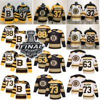 Wholesale bruins rask jersey resale online - 2019 Stanley cup Boston Bruins Hockey David Pastrnak Patrice Tuukka Rask Brad Marchand Jake DeBrusk hockey jersey