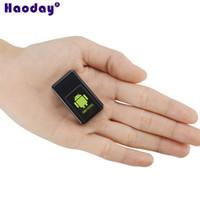 Wholesale mini batteries ion for sale - Group buy Portable Mini GSM GPRS tracker Network Video Talking Locator GF V mAh Li ion battery Long Standby Time mini gsm tracker GPS