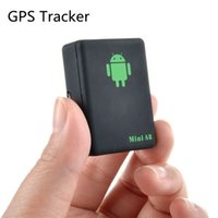 seguridad de los niños al por mayor-Mini A8 Rastreador GPS con botón SOS Local en tiempo real GSM / GPRS Seguridad Localizador de dispositivos de rastreo automático para autos, niños, ancianos, mascotas HHA223