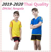 Wholesale baby boy sports suit summer for sale - Group buy Summer Baby kids jersey Boys Girls Suits Kids Soccer Jersey Children Breathable Sport Outfit Sleeveless T shirts Short sleeve set