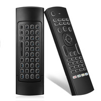Backlit MX3 Fly Air Mouse 2.4G Wireless Remote Control Keyboard for Android Smart TV box T95Z Plus X96 mini H96 mini